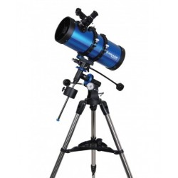 Meade Polaris 127 EQ Reflector Telescope (Blue)
